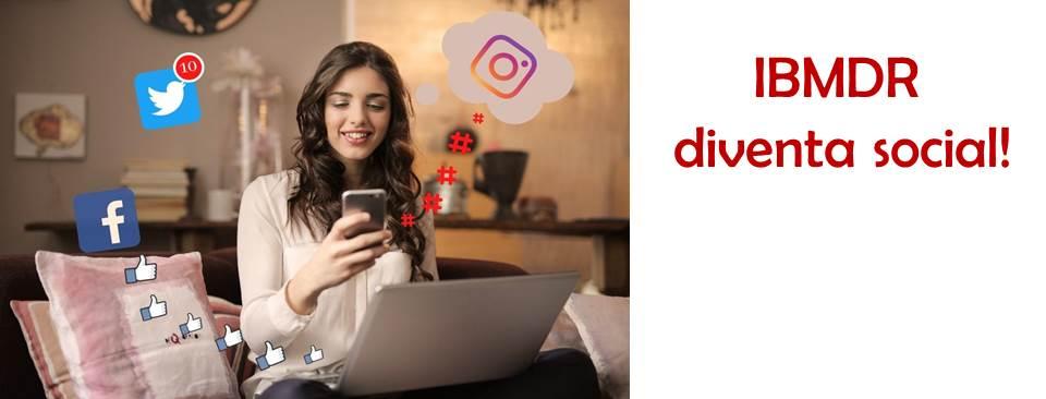 Ora ci trovi anche su Facebook e Instagram